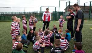 Wigan Warriors : 3 day half term camp for ages 4-12 (24/10 to 26/10) AND a 2018 season ticket to watch Wigan Warriors