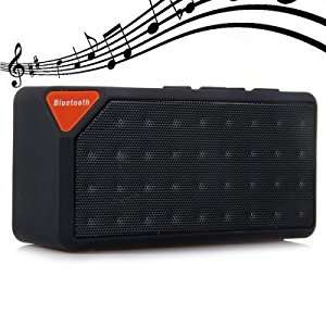 Cube X3 Wireless Mini Bluetooth V2.1 Speaker - black - 77p w/code @ Gearbest