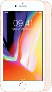 Apple iPhone 8 plus 64GB, 18GB data Unlmtd Texts and calls. £48 a month Free Phone ( £96 cashback ) choice of subscription gifts £1152 @ Mobile phones Direct