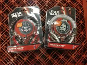 Star Wars headphones - £5 in Poundland