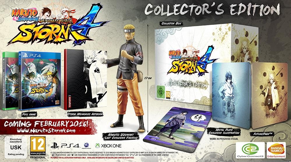Naruto Shippuden: Ultimate Ninja Storm 4 Collector's Edition (PS4) - £50 @ GAME