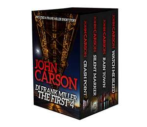 Save £7.95 on This Thrillers Collection  -  DI FRANK MILLER - The First 4 Kindle Edition  - Free Download @ Amazon