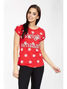 Sleigh whaaat Christmas tshirt @ select fashion £1.99 (+£3.99 del or free over £15)