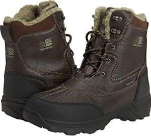 Karrimor Snow Casual 3 Weathertite, Men's High Rise Hiking Shoes, Brown (Sizes 7-11) £17.99 (Prime), £21.94 (Non-Prime) @ Amazon