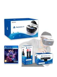 Full Playstation VR kit £353.97 delivered with code at Very  (existing customers emailed code)