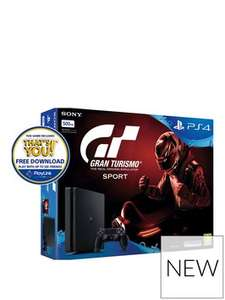 Playstation 4 500GB Slim with GT Sport £213.98 (Price includes delivery) using code @ Very