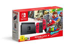 Nintendo Switch Super Mario Odyssey Limited Edition Console £299.99 (delivery £3.99) with code @ Very (New & Existing Customers)