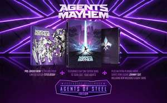 [Xbox One/PS4] Agents of Mayhem - Steelbook Edition - £21.85 - Shopto (Standard Edition £19.99 C&C - Smyths)