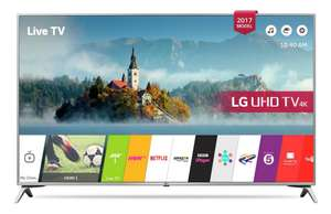 LG 55UJ651V 55 Inch Smart 4K Ultra HD TV with HDR - £629 @ Argos