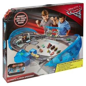 Disney Cars 3 Speedway track £56 (with code PH36!) @ Debenhams