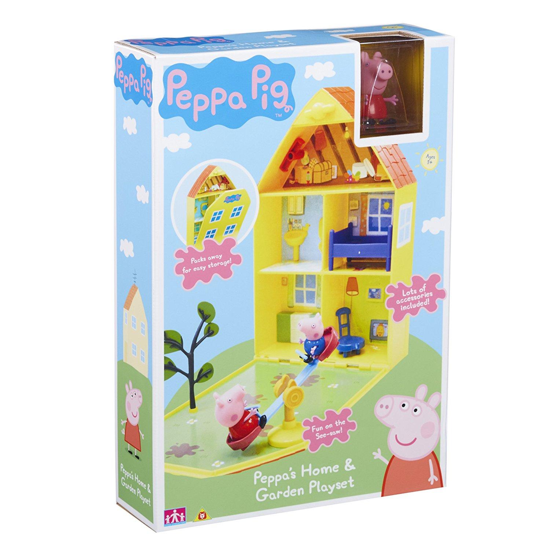 Peppa Pig Peppa's Home & Garden Playset £4 @ Morrisons