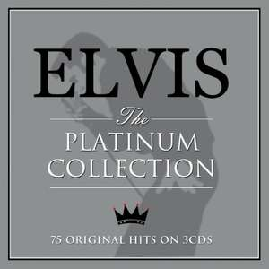 Elvis - the platinum collection CD box set (plus free digital downloads) £3 @ Amazon - Prime Exclusive