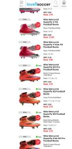 70% off Elite Nike Football Boots RRP £230 Now £70 at Lovell Soccer