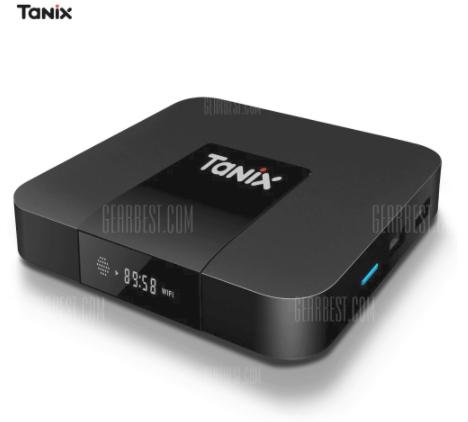 Tanix TX3 Mini TV Box  -  2GB RAM + 16GB ROM  UK PLUG £20.62 Delivered with code @ Gearbest