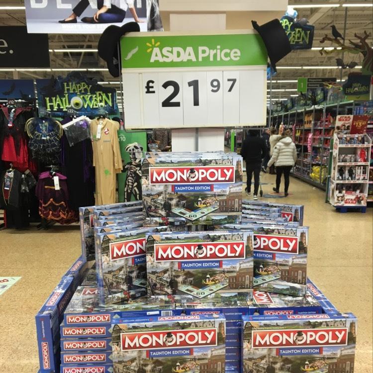Taunton monopoly £21.97 @ Asda Taunton