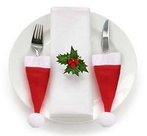 Fantastic Xmas Table Dinner Decorations - £1.99 prime / £2.98 non prime Sold by My Swift and Fulfilled by Amazon