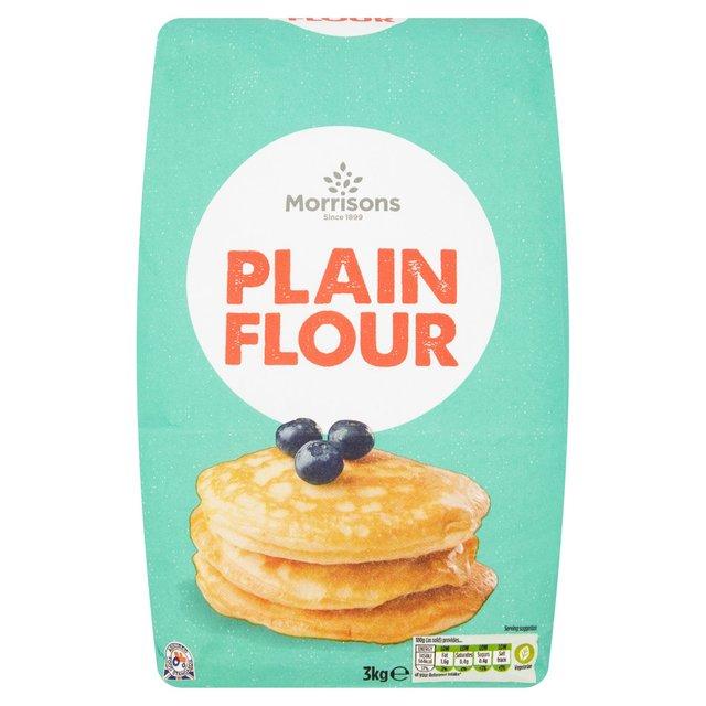 Morrisons Plain Flour 3kg for £1.