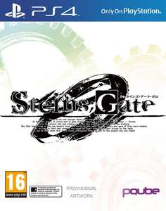 Steins Gate Zero Limited Edition (PS4) £10 / Dirt 4 Day One Edition (PS4) £24.49 (Prime) Delivered (+£1.99 Non-prime) @ Amazon
