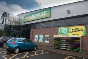Homebase Milngavie closing down - everything at least 33% off, some items more.