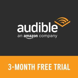 3 months free audible trial for prime members - even if you've taken a free trial previously