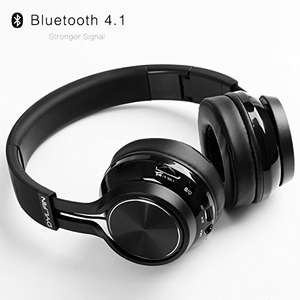 Bluetooth over ear headphones with mic £22.99 Sold by EasyLinKEU and Fulfilled by Amazon