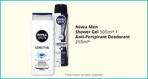 Nivea For Men Sensitive Shower Gel - 500ml - £1.49 @ Savers