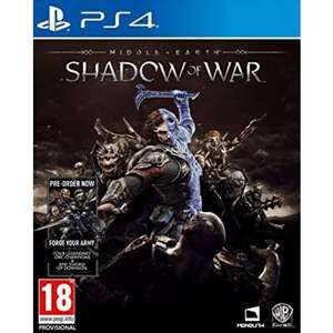 Middle-earth: Shadow of War PS4 £34.85 @ The game collection
