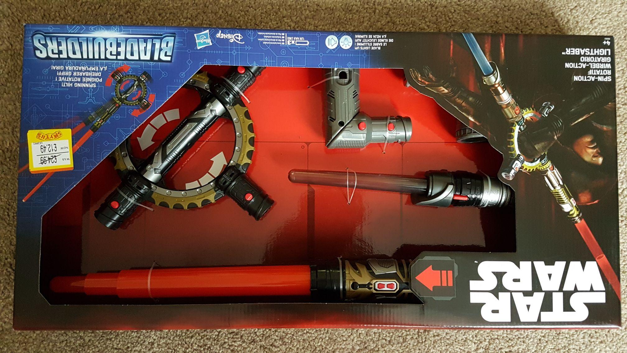 Spinning star wars bladebuilder £12.49 @ Smyths toys - Instore & Online