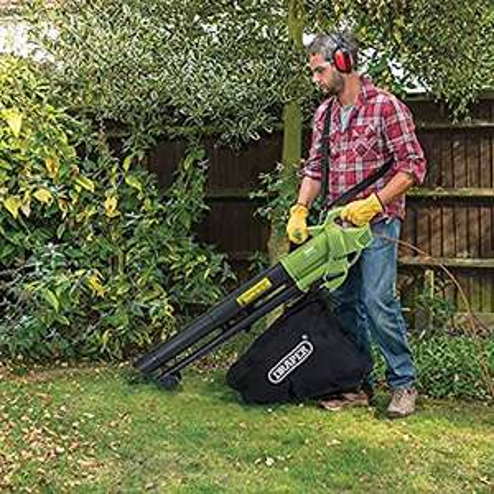 Draper 3000W 3-in-1 Garden Vacuum, Leaf Blower and Mulcher £34.99 @ Robert Dyas - Free c&c