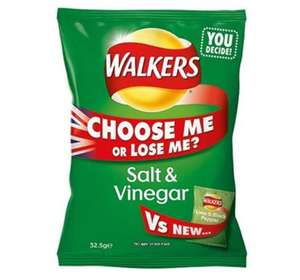 "Walkers Crisps - 6 Pack of ""Choose Me or Lose Me?"" - 20p - Sainsburys instore"