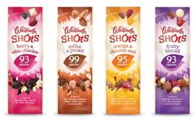 Whitworths Snack Shots 25g at Sainsburys