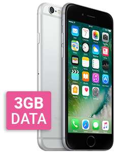 Apple iPhone 6 32GB Grey 3Gb Data, Unlimited Mins/Texts 24 months £27 Total £648 - (£19.99pm after cashback) on O2 @ Mobiles.co.uk