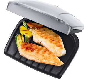 George Foreman 17894 2 Portion Health Grill + 3 years guarantee - was £16.49 now £9.99 @ Argos