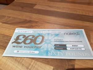 Naked Wines £60 off