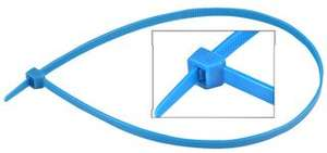 Cable Ties 550 x 8mm Blue 50 Pack £1.50 Delivered Based On A Minimum £5 Ex Vat Spend (Otherwise £4.50) @ CPC