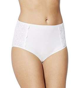 F&F 4 Pack of Embroidered Full Briefs (size 12 only) 50p @ Tesco Direct Free C&C