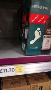 Barefoot Malbec Red Wine Case of 4x750ml £11.70 @ Tesco Instore