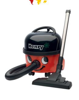 Henry Vacuum Cleaner £95.99 @ Viking direct