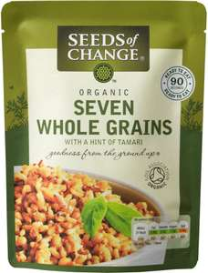 Seeds of Change Organic Seven Wholegrains (240g) ONLY £1.00 @ Poundstretcher