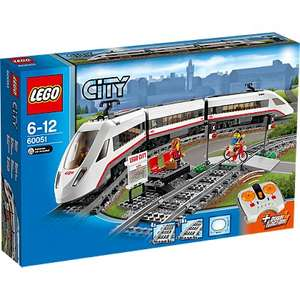 LEGO City High-Speed Passenger Train 60051 back in stock @ Tesco direct