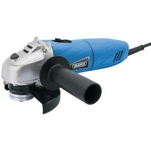 Draper 115mm 500W Angle Grinder £12.49 @ The Range