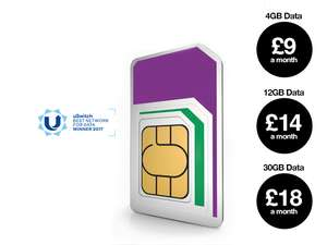 12GB, unlim mins/texts use all over world £55 cashback £12 pm @ Three