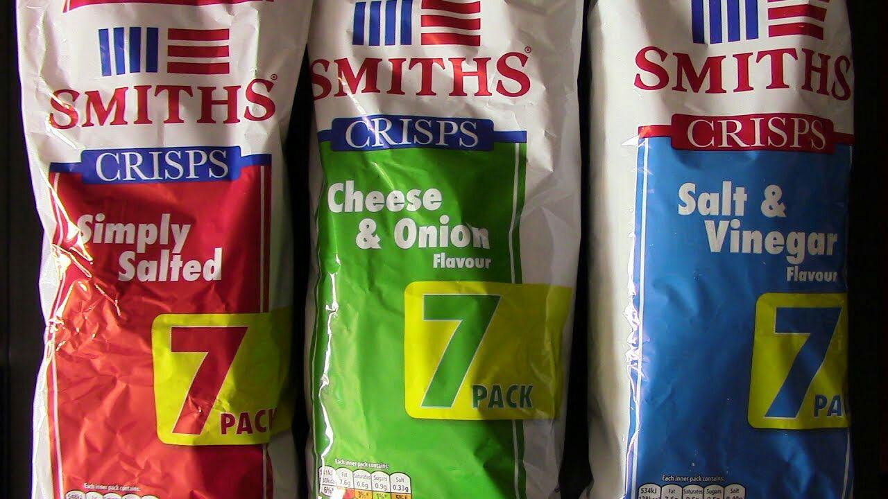 Smiths Crisps 7x25g £1 @ Poundland