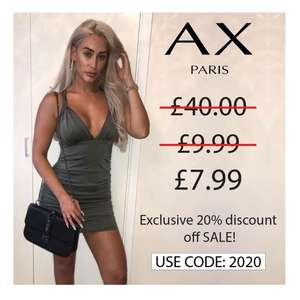 20% off all AX Paris sale