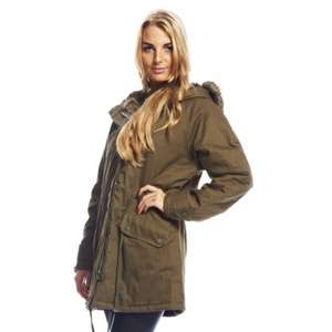 AX Paris Fur hooded Parker £15.99 in sale with 20% discount code