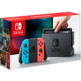 Neon Nintendo Switch with Mario Odyssey (Physical) £309.99 @ Game (Also, Limited Edition Mario bundle with Rayman/Lego Worlds £349.99 link in description)