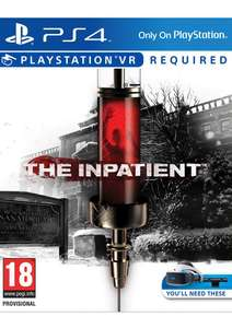 The Inpatient (PlayStation VR) on PlayStation 4 £25.85 @ Base.com