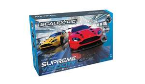 Scalextric Supreme Velocity Aston Martin Track Set £60 from £120 c&c or £2.95 delivery @ george/asda