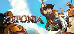 [Steam] Deponia - 90% off (69p)