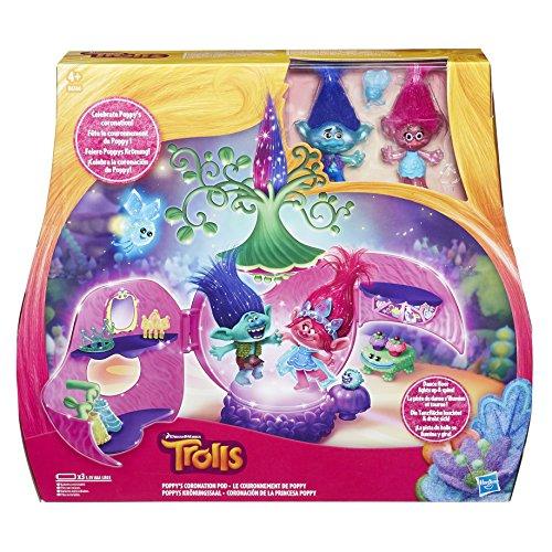 Trolls DreamWorks Poppy's Coronation Pod Playset £12.97 prime (£15.96 non Prime) @ amazon
